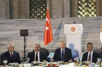 TBMM Başkanı Şentop, milletvekillerine iftar verdi