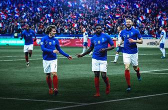 Fransa'nın Türkiye maçı kadrosu açıklandı