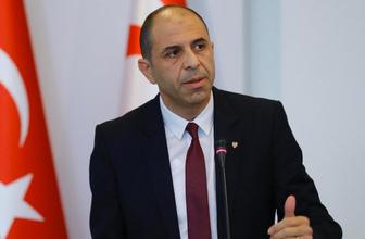 KKTC Dışişleri Bakanı Kudret Özersay Pompeo'ya mektup gönderdi