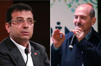 Süleyman Soylu'dan Ekrem İmamoğlu'na görüntülü yanıt