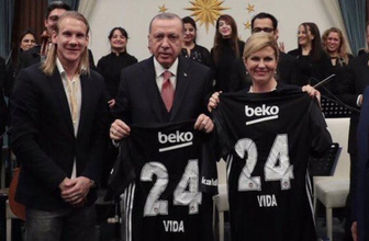 Erdoğan, Domagoj Vida'dan 3 çocuk yapmasını istedi!