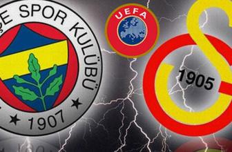 UEFA'dan Galatasaray'a iyi Fenerbahçe'ye kötü haber