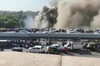 Hindistan'da eğitim binasında korkunç yangın : 15 öğrenci öldü
