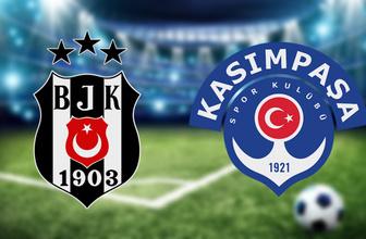 Beşiktaş Kasımpaşa maçı hangi kanalda saat kaçta? (11'ler belli oldu)
