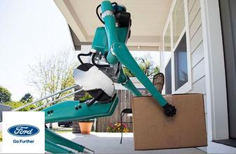Ford'un Digit isimli akıllı robotu görücüde