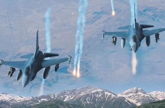 Jetler havalandı! Kuzey Irak'ta PKK hedefleri yerle bir edildi