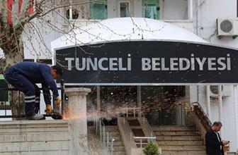 """Tunceli Belediyesi tabelasının """"Dersim"""" olarak değiştirilmesi kararına durdurma"""