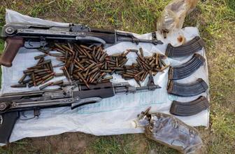 Valilik açıkladı: PKK'ya ait gömülü mühimmat ele geçirildi