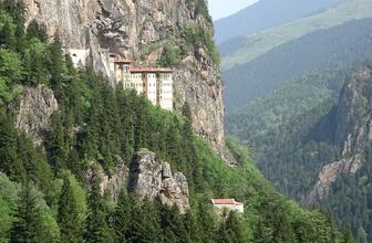 Sümela Manastırı ziyarete açıldı gizli geçit detayı