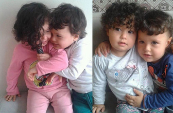 Üzerlerine kaynar süt dökülen ikizleri ölüm ayırdı