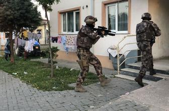 Bursa'da bin polisle operasyon giriş ve çıkışlar abluka altına alındı
