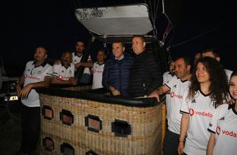 Fikret Orman Beşiktaş balonuyla uçtu