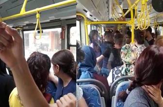 Halk otobüsünde taciz şoku!