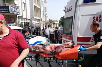 Edirne'de sokak ortasında bıçaklanarak öldürülme anbean kamerada