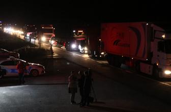 Gerede-Karadeniz bağlantı yolunda trafik durma noktasına geldi
