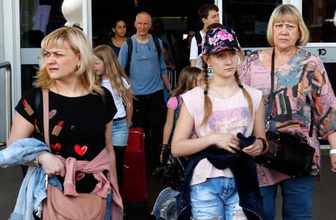 Mayıs ayında Antalya'ya turist yağdı