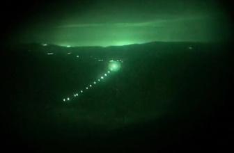 PKK'nın sözde liderlerinin kullandığı mağara vuruldu!