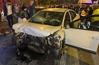 İstanbul Kartal'da feci kaza can pazarı yaşandı çok sayıda yaralı var