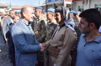 İçişleri Bakanı Süleyman Soylu Beytüşşebap'ta vatandaşlarla bayramlaştı