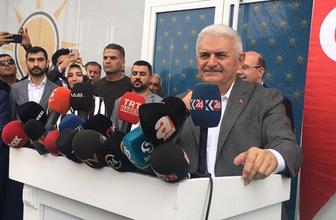 Yıldırım'dan Diyarbakır'da Kürdistan açılımı