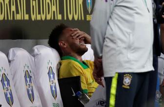 Neymar'ın ayağı kırıldı hıçkıra hıçkıra ağladı