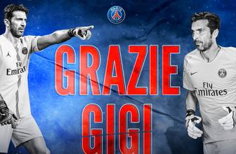 Gianluigi Buffon PSG'ye veda etti