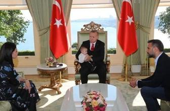 Alişan ve Buse Varol Cumhurbaşkanı Erdoğan'a ziyarete gitti