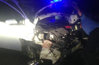 Gaziantep'te hafif ticari araç ile otomobil çarpıştı: 9 yaralı