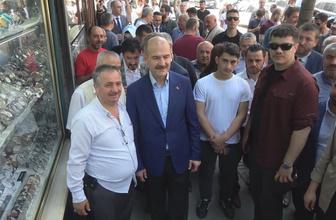 Süleyman Soylu Gaziosmanpaşa'da esnafı ziyaret etti