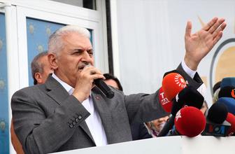 """Binali Yıldırım'dan """"Urfalıyam Ezelden"""" türküsü! Payitahtı alacağız sloganları"""