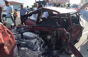 Malatya trafik kazası 2 ölü 5 yaralı