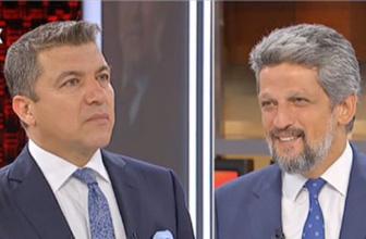 HDP'li Garo Paylan ile İsmail Küçükkaya arasında moderatör tartışması