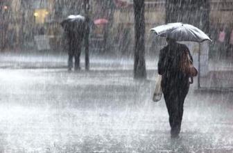 Yurt genelinde sağanak yağış var! Meteorolojiden önemli uyarılar geldi