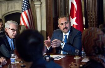 Bakan Abdülhamit Gül ABD'de FETÖ elebaşı Gülen'in iade sürecini görüştü