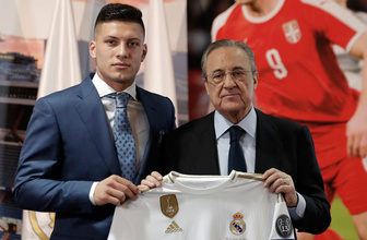 Real Madrid Luka Jovic'i tanıttı