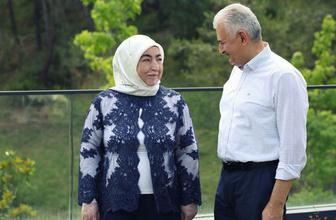 Binali Yıldırım'ın karısı Semiha Yıldırım'dan Dilek İmamoğlu açıklaması