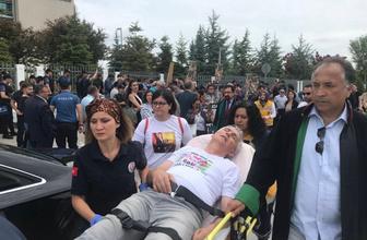 Çorlu tren kazasında yakınlarını kaybeden ailelere polis müdahalesi