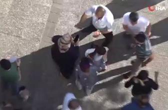 Gaziantep'de kadınlar sokak ortasında birbirine girdi! O anlar kamerada