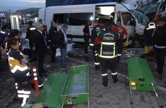 Kırıkkale'de feci kazada yaralanan şahısların kimlikleri belli oldu