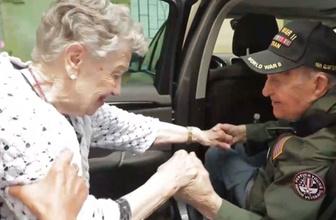 75 yıl sonra kavuşan aşıklar...
