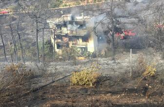 İzmir'deki korkutan yangın