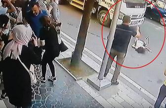 Düzce'de annesinin elini bırakan küçük kıza vinç çarptı