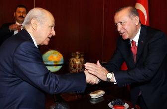 Cumhurbaşkanı Erdoğan ve MHP lideri Bahçeli'den kritik zirve!