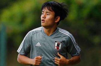 "Devlerin peşinden koştuğu ""Japon Messi"" Real Madrid'de"