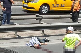 Beşiktaş'ta otomobilin çarptığı yaya ağır yaralandı