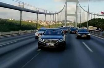 Devlet Bahçeli'nin İstanbul yolculuğu videosu sosyal medyayı salladı