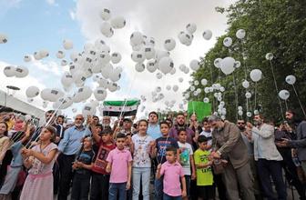18 ayrı başkentte İdlib eylemi
