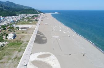 Bursa Karacabey Boğazı plajı Türkiye'nin en uzunu olacak