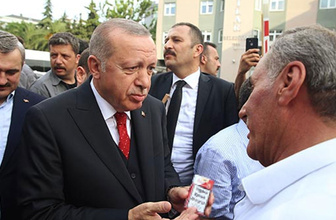 Cumhurbaşkanı Recep Tayyip Erdoğan, Bağcılar Belediyesi'ni ziyaret etti.