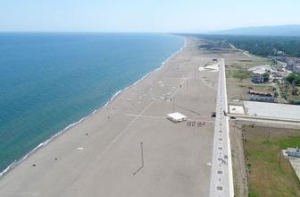 Türkiye'nin en uzunu olacak! Karacabey Boğazı plajında çalışmalar tamamlandı